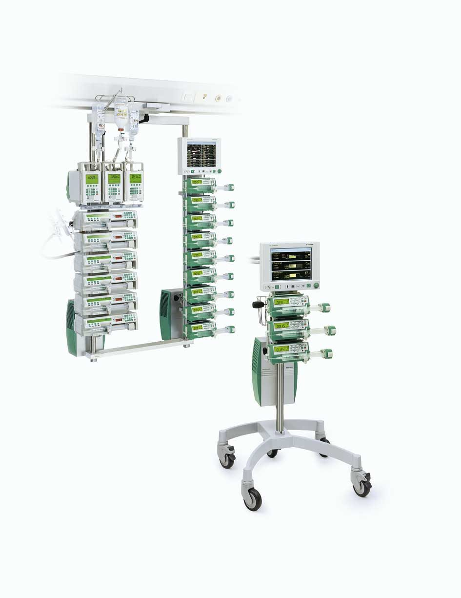The first docking stations in IV therapy